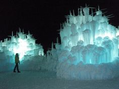 Brent Christensen Creates Ice Castles with Icicles | Oddity Central - Collecting Oddities