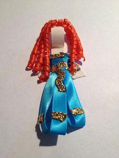 Disney Brave Princess Merida Inspired Hair Clip.