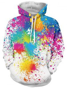 GET $50 NOW | Join RoseGal: Get YOUR $50 NOW!http://www.rosegal.com/mens-hoodies-sweatshirts/paint-splatter-print-long-sleeve-715471.html?seid=7329543rg715471
