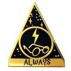 Harry Potter lapel pin / la barbuda #labarbuda #labarbudashop #pin #lapelpin #pingame #enamelpin #harrypotter #always #potter #potterhead #harrypotterpin