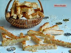 Sonkás chilis stangli   Bibimoni Receptjei Chilis, Shrimp, Meat, Tableware, Food, Dinnerware, Chili, Tablewares, Essen