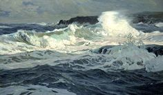 Great lesson on seascape painting from Stapleton Kearns – California Plein Air Painters