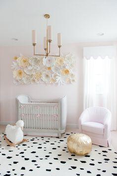 3D Paper Flower Wall