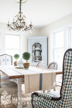 corner cabinets in shutter gray - Miss Mustard Seed