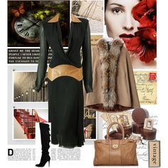 """vintage"" by jules7777 on Polyvore"