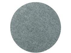 Södahl Multi felt bordstablett Ø 35 cm grå