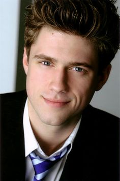 Aaron Tviet... I had such a crush on this guy and his radical ways in Les Mis