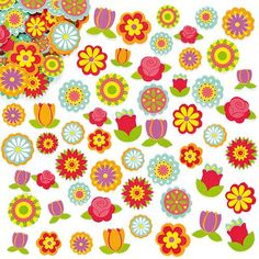 Buy Flower Foam Stickers at Baker Ross. These are 'blooming' marvellous! Brightly coloured foam flower stickers to decorate crafts, collage and cards. Size 144 foam stickers per pack. Frog Crafts, Crafts For Kids, Children Crafts, Pop Out Cards, Scratch Art, Project Free, Craft Free, Mothers Day Crafts, Arts And Crafts Supplies