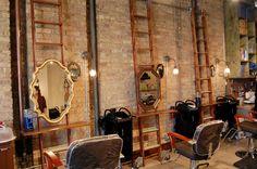 Vintage salon decor on pinterest vintage salon salons decor and shabby chi - Decoration salon vintage ...
