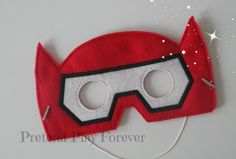 Baymax Inspired Pretend Mask by PretendPlayForever