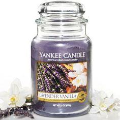 Yankee Candle Housewarmer Jar (Lavender Vanilla)