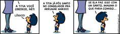 Coitado do Santo Antônio!! kkkk