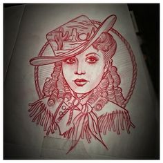#country #western #cowgirl #tattoo #tattoos #sketch #nashville #tennessee #thekidoriginal @kustomthrills Inquire at thekidoriginal53@yahoo.com or adamthekid.com
