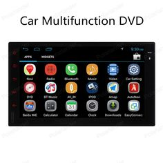 Universal 2 din Android 4.4 Car DVD player for Car Radio 2 Din GPS Navi support DAB+ wifi 3G mirror TPMS Radio DVR Bluetooth