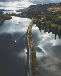 Loche Ness, Scotland Caledonia you're callin' me and now I'm goin' home. via @stuart.laing / instagram