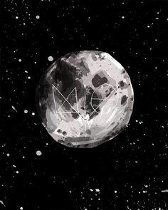 J. STUMPENHORST MOON #MOON #SPACE