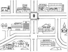 Outline to make a cardboard car mat Car Play Mats, Car Mats, Felt Play Mat, Cardboard Car, Activity Bags, Quiet Book Patterns, Custom Mats, Church Nursery, Lap Quilts