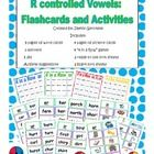 """This set includes materials to teach r controlled vowels; ar, or, er, ir, and ur.    Included are:  85 word cards  35 picture cards  3 spinner games  4 """"..."""