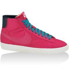 brand new 76c8c fd318 original Baskets Nike Blazer High Vintage Femme rose bleu discount online  France Basket Nike, Sneaker