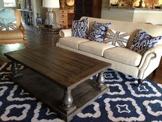 Balustrade Coffee Table | Do It Yourself Home Projects from Ana White