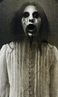 scary witch pictures in mirror | witch featured in Western folklore. She is said to appear in a mirror ...