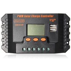 20 30a Pwm Lcd Dual Usb Solar Panel Battery Regulator Charge Controller 12 24v. Description:   20 30A PWM LCD Dual USB Solar Panel Battery Regulator Charge Controller 12 24V    Features:    1.LCD Display, all ajustable parameter.  2.PWM Battery charging.  3.Build-in industrial micro controller.  4.Fully 4-stage PWM charge management.  5.Built-in short-circuit protection, open-circuit protection, reverse protection, over-load protection.  6.reverse current…