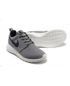 Nike Roshe Run Womens Mens Shoes Gray Black White