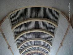church ceiling Yucatan