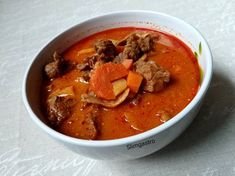 Pandúrleves Thai Red Curry, Cooking Recipes, Ethnic Recipes, Foods, Drinks, Food Food, Drinking, Food Items, Beverages