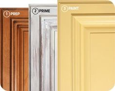 DIY Updated Kitchen Cabinetry – Awesome tutorial on painting your own cabinets