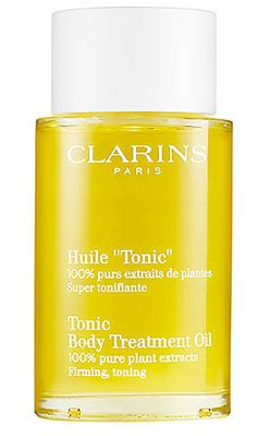 The Fashion Magpie // Clarins Huile Tonic.
