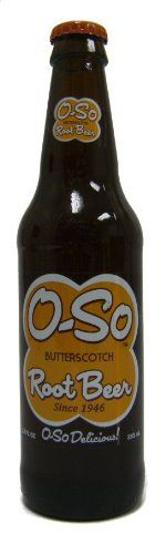 (Retro) O-so Butterscotch Root Beer - 12 Pack ** See this great product.