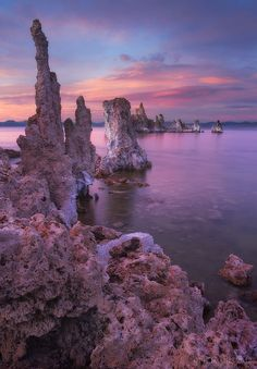 Crayola Funhouse by Peter Coskun, via 500px; Mono Lake, California