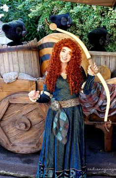 todisneywego: Merida and her bow<3