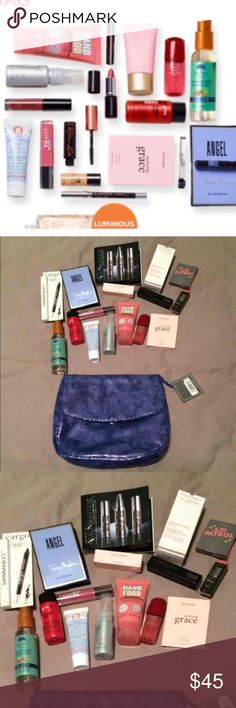 NEW ULTA BEAUTY SET! ALL NEW AND NEVER USED ULTA BEAUTY KIT! Includes all items shown. Comes with the large cosmetic bag shown! All items are in the sizes shown/listed (deluxe travel sizes)! $75 value! Selling as the whole set!   NO TRADES!!!! Sephora Makeup