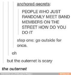 All beware the outernet