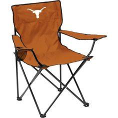 Texas Longhorns Team-Colored Canvas Chair, Team