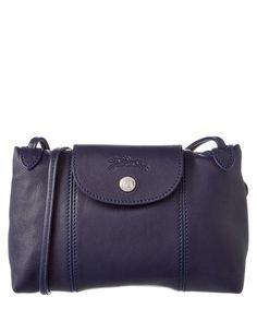 LONGCHAMP Longchamp Le Pliage Cuir Leather Crossbody .  longchamp  bags   shoulder bags d1427271042