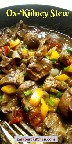 Here is a simple Ox-Kidney Stew Recipe. It is very tasty and can be enjoyed with any starch such as nshima, rice, pasta and potatoes. Kidney Recipes, Mince Recipes, Cooking Recipes, Zambian Food, Beef Kidney, Easy Beef Stew, How To Cook Beef, Nigerian Food, Recipes
