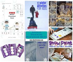 Winter and Winter Holiday Features from Crafty Moms Share