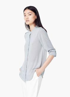 Lejąca wzorzysta koszula | MANGO http://shop.mango.com/PL/p0/kobieta/odziez/koszule/lejaca-wzorzysta-koszula/?id=51035528_02&n=1&s=prendas.blusas&ident=0__0_1450562857098&ts=1450562857098&p=115&page=7