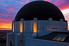 Griffith Park Observatory. Los Angeles