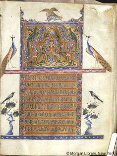 Gospel Book, MS M.740 fol. 7r - Images from Medieval and Renaissance Manuscripts - The Morgan Library & Museum