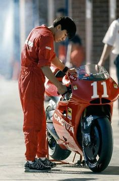 Cagiva 500..The most beautiful bike never constracted..