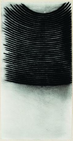 nunzio e il disegno -senza-titolo-2005-carbone-su-carta-giapponese-188x96-cm