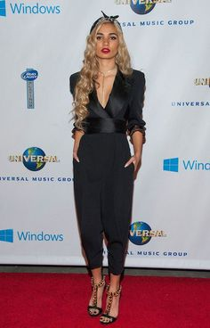 American singer, model and actress, Pia Mia Perez...