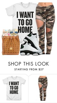 """""""Finna air it out."""" by rheini ❤ liked on Polyvore featuring Akira and Retrò"""