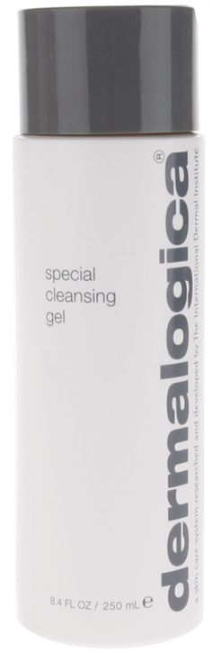Dermalogica Special Cleansing Gel  Good for acne prone skin. Use with clear skin and if a break out occurs, use clearing skin wash until the breakout clears.
