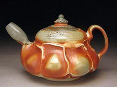 soda fired teapot | Soda Fired Teapot | Salt/Soda