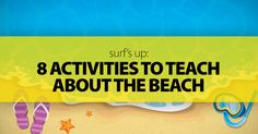 Surf's Up: 8 Activities To Teach About The Beach